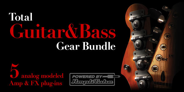 Total gtr ans bass bundle