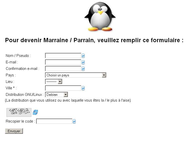 Parrains Linux