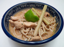 Soupe de nouilles thaïe au poulet