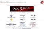 Opera 9.5 existe aussi en version portable