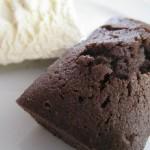 Petits gateaux au chocolat et noisette