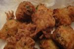 Les accras malanga et giraumon ou marinades aux légumes