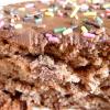 Le gâteau au Nutella et aux pépites de chocolat