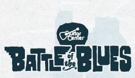 Guitar Centers Battle of the Blues 2012, la nouvelle saison arrive