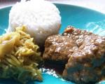 Le curry de boeuf de Goa
