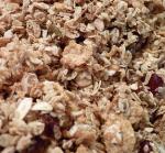 Le granola du petit déjeuner