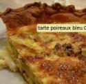 La tarte aux poireaux et fromage bleu
