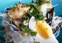 Le laksa malais aux fruits de mer