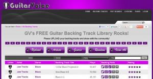 GuitarVoice interface