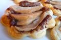Les tartelettes feuilletées aux poires et Nutella de Sonia
