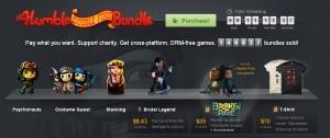 humble bundle double fine