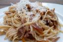 Les linguine au sugo finto ou la fausse sauce bolognaise