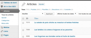 wordpress modifier auteur article 01