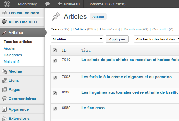 wordpress modifier auteur article 02