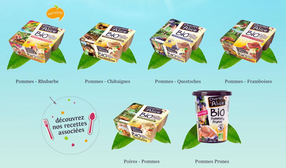 charles et alice produits bio
