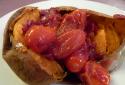 Les patates douces à la sauce Jerk
