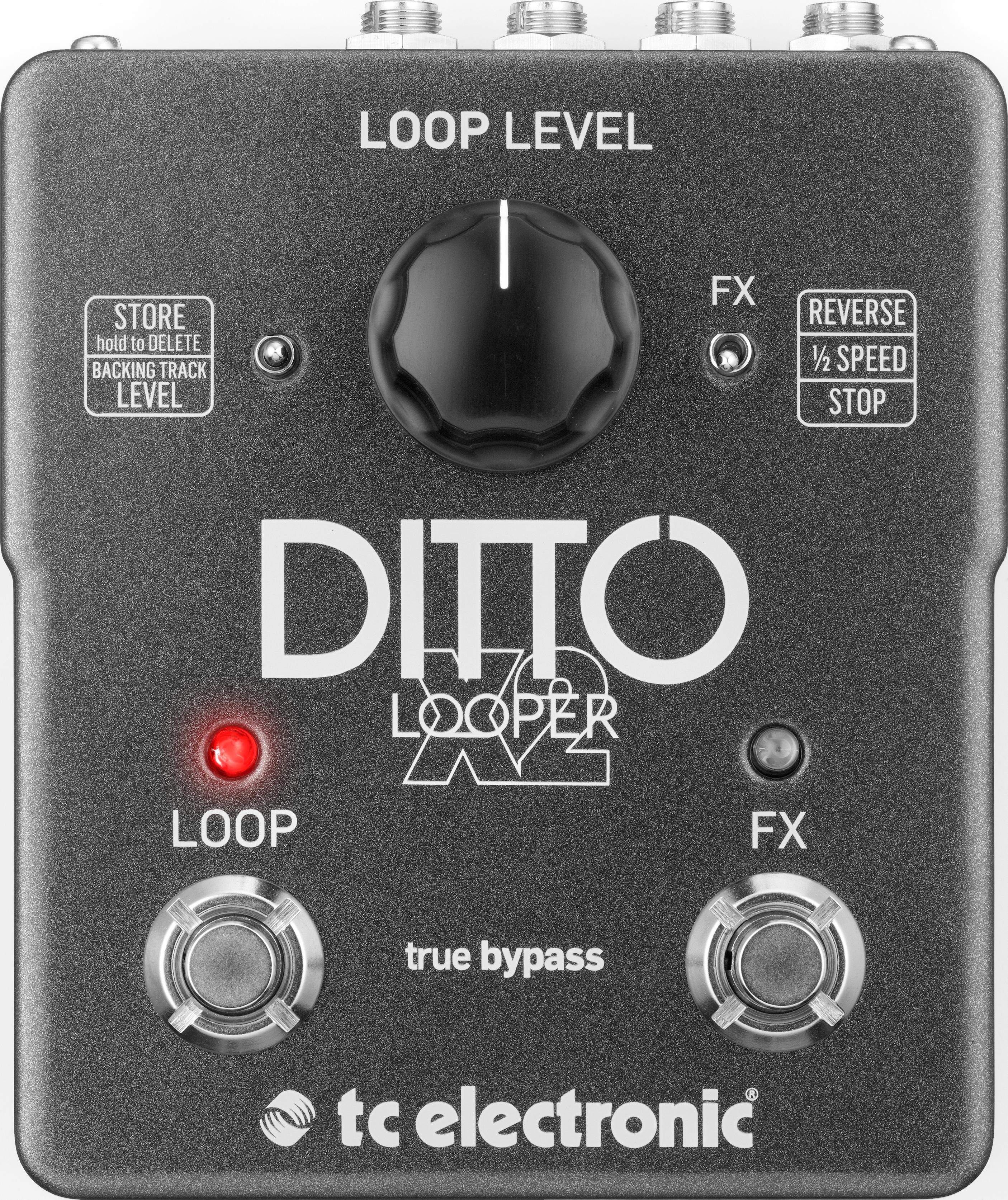 TC annonce le Ditto Looper X2