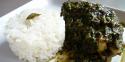 Le poulet punjabi aux épinards