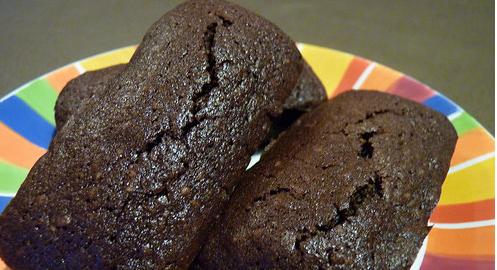 financiers chocolat sans gluten thumbnail