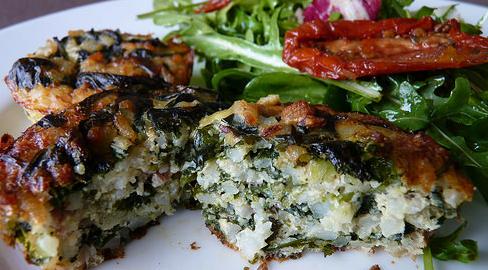 quiche riz épinards pancetta thumbnail