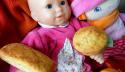 Les mini banana bread sans gluten et sans lactose