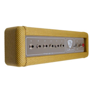 Bona-Fide_Fender_Inspired_Tweed_High_Powered_Twin_Amp_Replica_Key_Holder_Left_Side_View