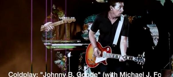 michael j fox coldplay Johnny B Goode thumbnail